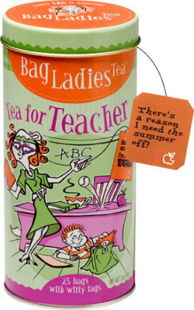 Tea for Teacher Tin