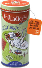 Girlfriends! Tea Tin