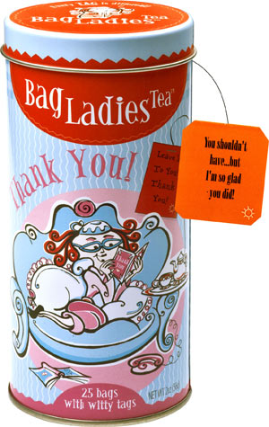Thank You Tea Tin